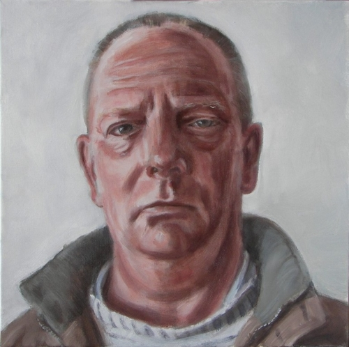 painting of the artist's brother