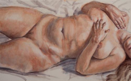naked female torso