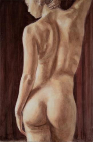 figure study of female torso
