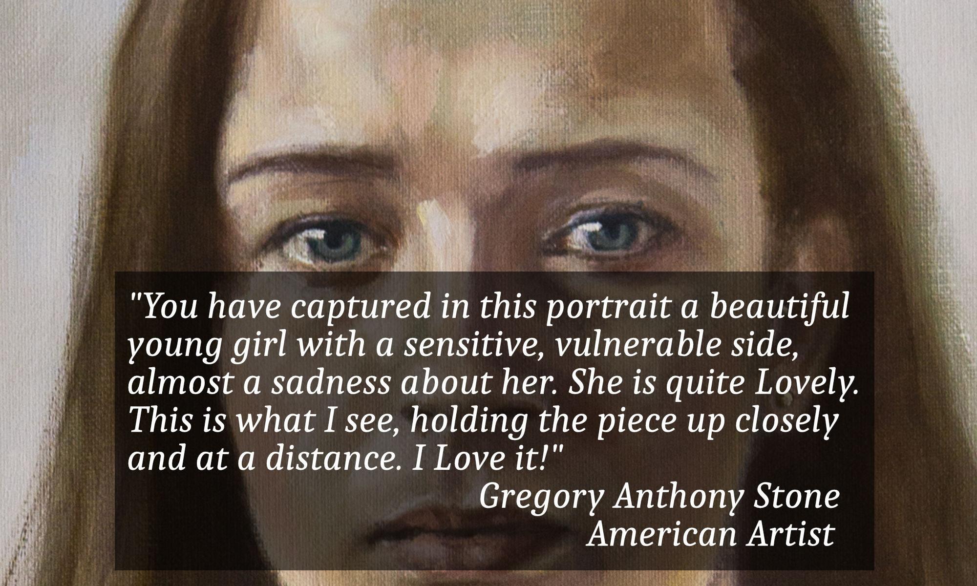 artist testimonial