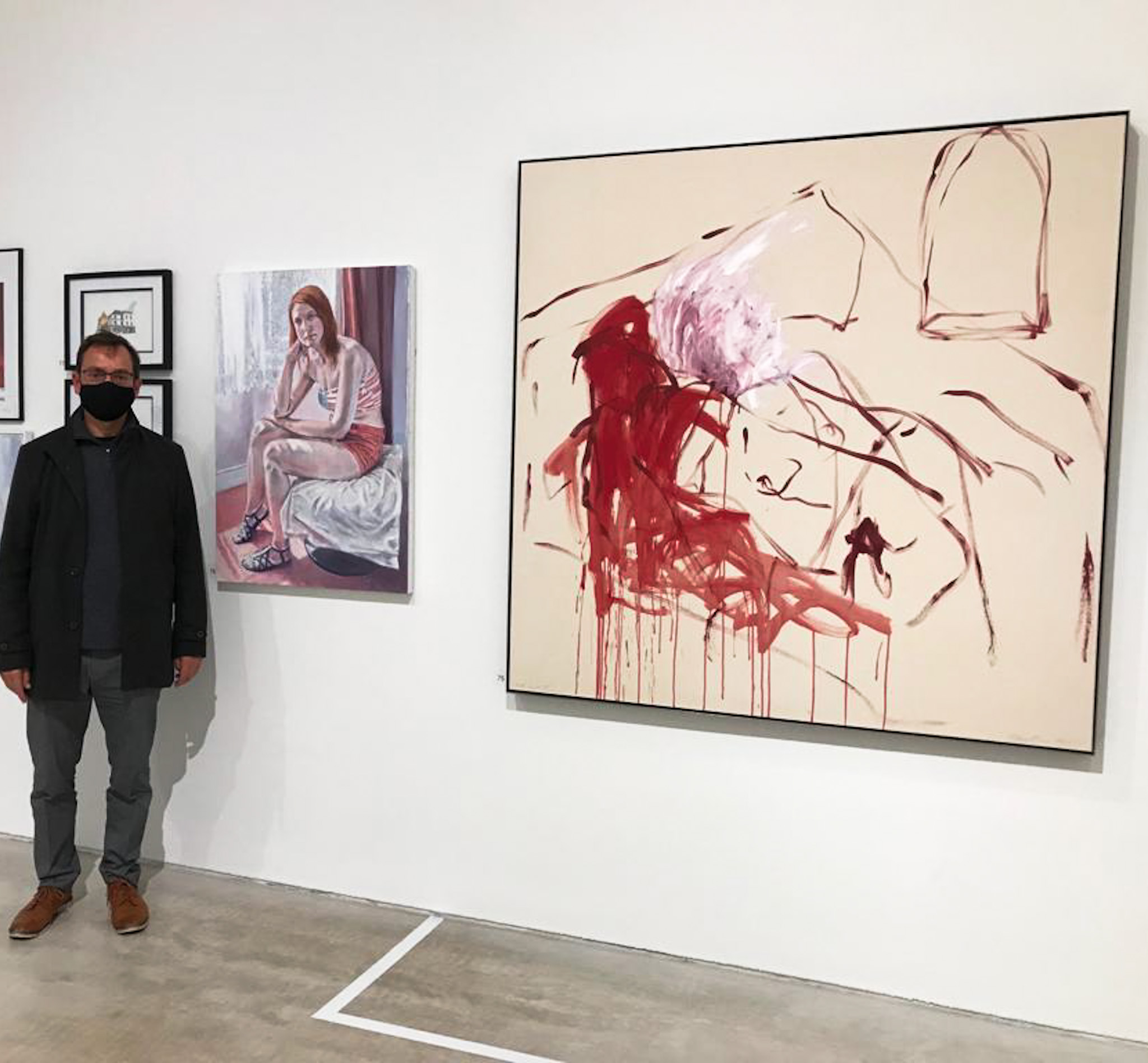 tracey emin exhibits with Peter D'Alessandri